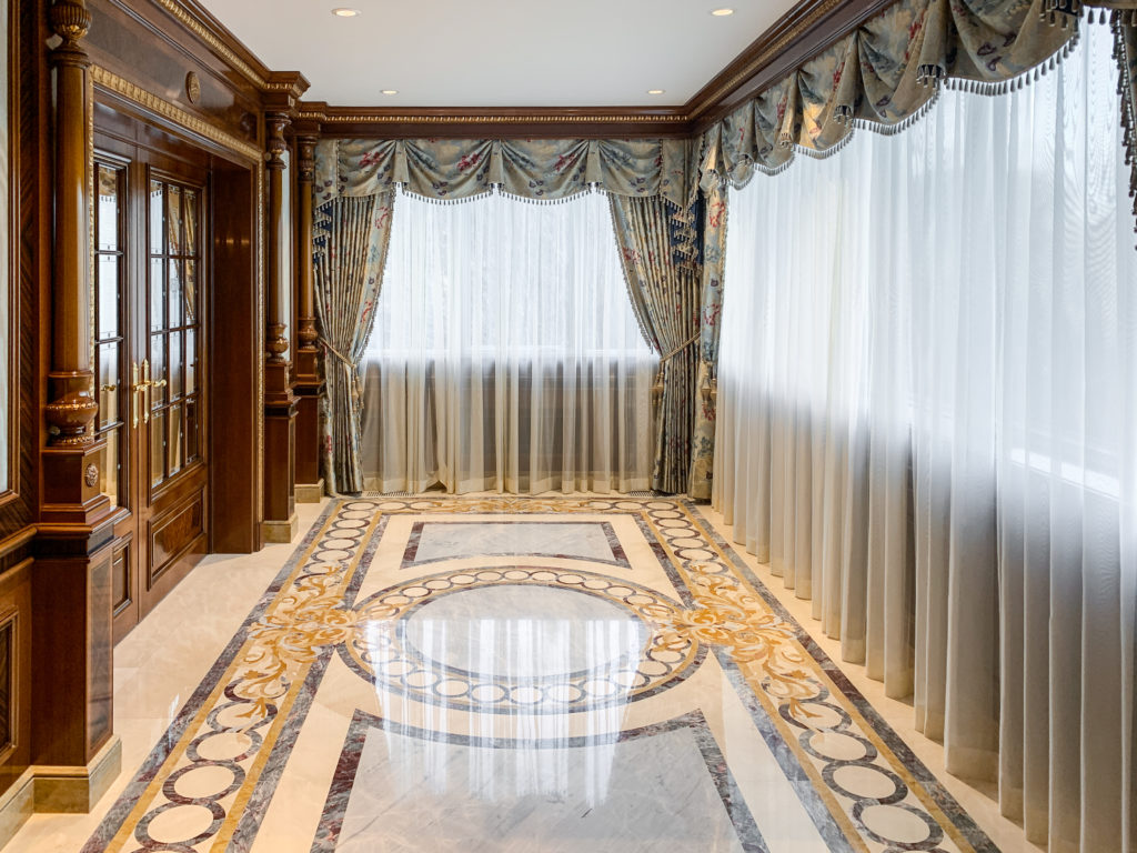 Custom Foyer and Elevator
