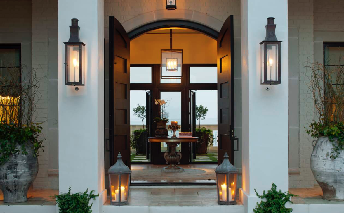 Lighting for the home entrance