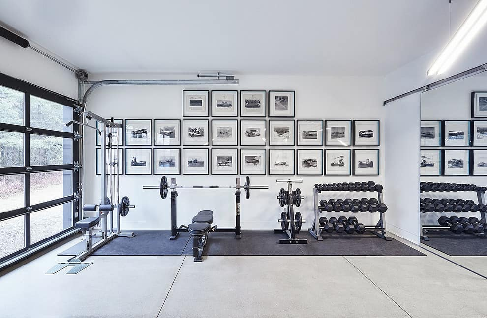 Gym in your garage