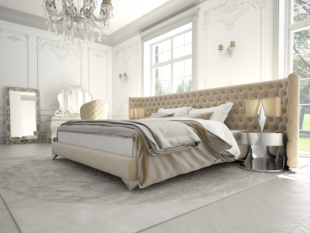 Master Bedroom design with Mirrors